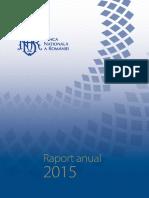 Rapoart Anual BNR 2015
