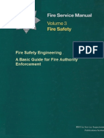 Fire Safety Engineering — a Basic Guide for Fire Authority Enforcement
