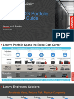 Lenovo Data Center Product Portfolio Presentation