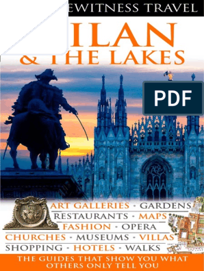 Milan And The Lakes Milan Books