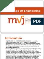 MVJ College Of Engineering.pptx