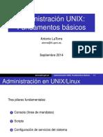 02admin Basica Unix 2014