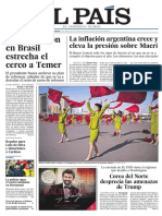 Portada El País 13 de abril de 2017