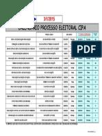 Calendario Processo Eleitoral CIPA