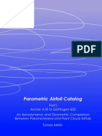 Parametric Airfoil Catalog
