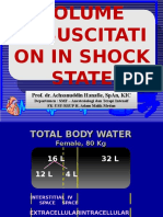 Volume Resuscitation in Shock State Ppds i Prof Hanafi