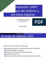 05arranque y Servicios Unix