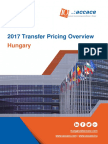 2017 Transfer Pricing Overview for Hungary