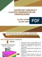 1. Inv Del Subsuelo y Ppios Generales de Cimentaciones