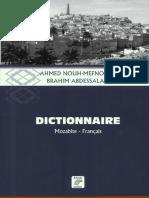 Dictionnaire Mozabite Fran Ais a. Nouh-mefnoune Et b. Abdessalam 2011 PDF 397 Pages