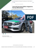 Taxista Investe Em Carros de Luxo Para Driblar Chegada de Novas Tecnologias_ 'Serviço Diferenciado' _ SP _ Santos e Região _ G1