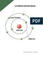 Modelo Atómico Según Bohr