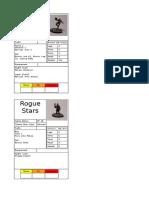Rogue Stars Characters samples