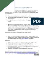 module interaction worksheet week2