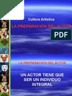 La Preparacion Del Actor