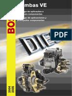 Catalogo Y Despiece de Bombas Bosch Diesel Ve 2004