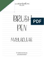 BrushPen Mayusc