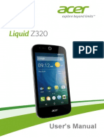 Acer Liquid Z320 Duo User's Manual