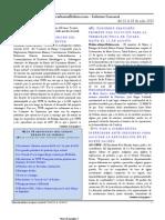 Hidrocarburos Bolivia Informe Semanal Del 12 Al 18 de Jul 2010