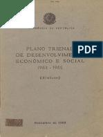 Presidencia Da República Plano Trienal 1963-65_PDF_OCR