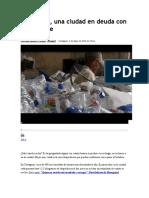 Cartagena en Deuda Con El Reciclaje