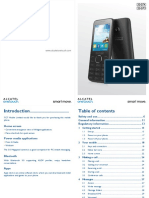 Alcatel 2007d Gb User Manual