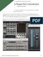 Making Audio Plugins Part 1_ Introduction - Martin Finke's Blog