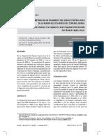 Cerrado Brasil Distribucion Diametrica