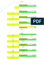 Tabela de Cáculo