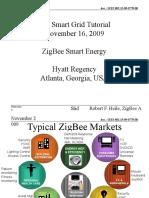 Smartgrid Tutorial Zigbee Smart Energy Overview