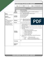 Rancangan Pelajaran Harian 2017