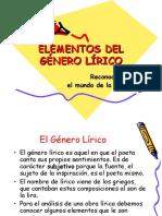 Género Lírico 2015