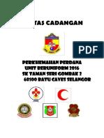 Kertas Kerja Perkhemahan Perdana 2016