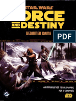 Star wars - Force and Destiny - Beginner Game [OCR]