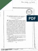 Chamberlain, Alexander F. 1912. the Calchaquian Linguistic Stock