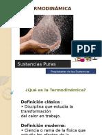 Clases de Sustancias Puras Termodinamica 2015a