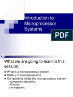 Microprocessor Based System Communication
