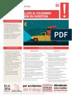 85 ACHS Ficha Acc Fatal 85 Camioneta Cargada Carretera