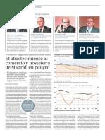 El abastecimiento al comercio y hostelería de Madrid, en peligro