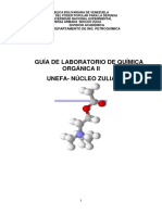 Manual de Prácticas de Laboratorio de Química Organica II