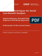 Book_Valuation Techniques for Cost-benefits Analysis_Stated Preference, Revealed Preference and Subjective Well-Being Approaches_Fujiwara and Campbell_2011