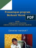 Pemantapan Program Berhenti Merokok (Bengkel Berhenti Merokok 17 Jul 2010)