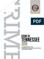 TBI 2016 Crime in Tennessee report