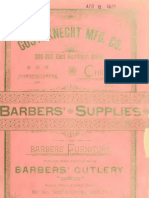 (1889) Price List and Barbers' Supplies , Cutlery & Barbers' Furniture