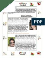 ecd 243- family letter  standard 2