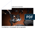 Los Diarios y El Encuadre de La Represión