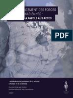 Sous-financement des Forces armées canadiennes