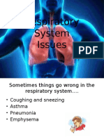 respiratory system issues-yr 9 mod