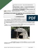 Nivel I - Apuntes de Clase Nro 8 - Materiales de Empleo Habitual en Estructuras Resistentes