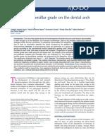 Influencia Del Grado de Hipertrofia Amigdalina en Las Mediciones Del Arco Dentario